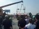 Thanh Hóa: Xe đi đám tang đâm nát đầu xế hộp, nhiều người bị thương