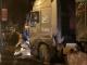 Hà Nội: Xe tải lao vào vỉa hè ban đêm đè bẹp một taxi khiến một người tử vong