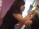 Công an làm việc với nữ chủ tiệm giày đánh cô sinh viên làm thuê