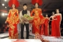Minh Triệu - Quanh Dy diện váy Long Phụng kiêu sa của NTK Ngọc Long