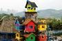 Ngôi nhà trên cây đầy màu sắc 'mọc lên' giữa phố