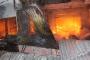 Cháy lớn tại chợ Hương Khê: Hàng trăm ki ốt chìm trong lửa