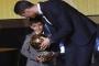 Bản sao đáng yêu 5 tuổi của Cristiano Ronaldo