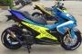 Yamaha NVX độ phiên bản 'cá mập biển xanh' gây sốt làng xế độ
