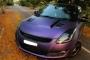 Ô tô Suzuki Swift nổi bật với bộ cánh màu tím mộng mơ