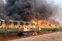 Đã có 77 người chết và bị thương do cháy tàu hỏa ở Pakistan