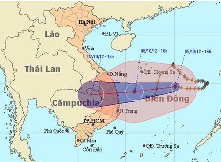 Sáng nay, dự kiến bão số 7 vào đất liền