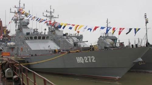 Việt Nam tự sản xuất 4 tàu chiến hiện đại