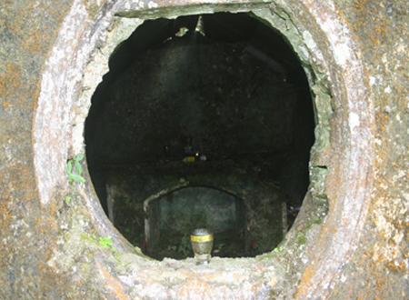 Ngôi miếu báo oán nằm sâu giữa rừng Phia Oắc