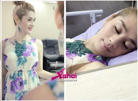 Khanh Chi Lâm rạng rỡ trở lại bệnh viện từng phẫu thuật chuyển giới cho cô.