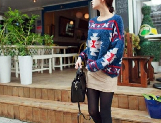 Thay đổi phong cách của mình bằng những chiếc áo len cánh dơi