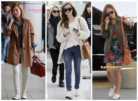 Jessica rất phong cách và thời trang
