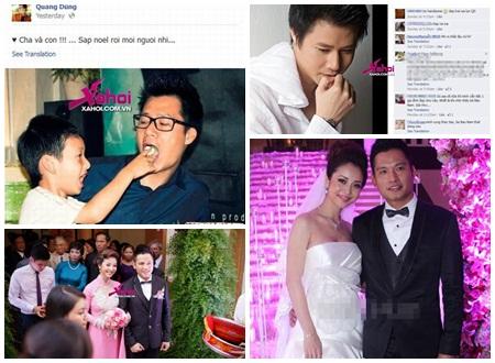 Quang Dũng nhớ con trai trước ngày thành hôn của Jennifer Phạm và Đức Hải