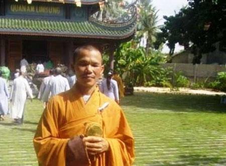 Ông Đặng Văn Thìn, pháp danh Thích Quảng Ngộ