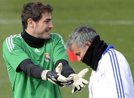 Mourinho và Casillas
