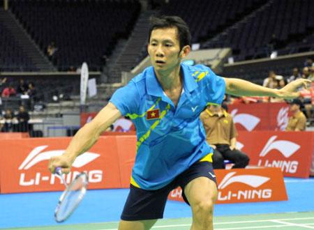 Tiến Minh khởi đầu năm 2013 bằng giải Hàn Quốc mở rộng