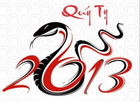 Năm Quý Tỵ 2013 tượng trưng cho sự lạc quan, cải cách và thịnh vượng.