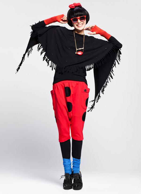 Quậy với chiếc áo cánh dơi, Thời trang, ao canh doi, chan vay, xu huong color block, thoi trang