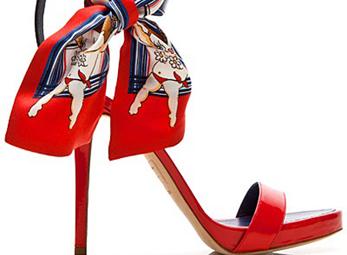 Giày Dsquared2 2012 lôi cuốn với sắc màu tươi sáng