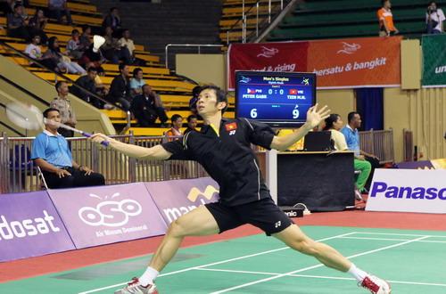 Giải cầu lông Australia mở rộng 2012: Tiến Minh vào chung kết