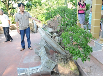 Hà Nam: Côn đồ náo loạn, đập phá nhà dân trong đêm