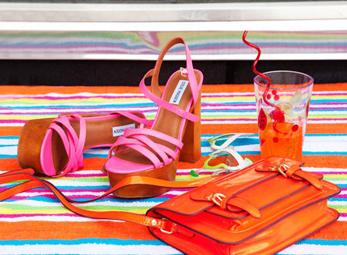 Đế xuồng họa tiết - xu hướng giày nổi bật hè 2012