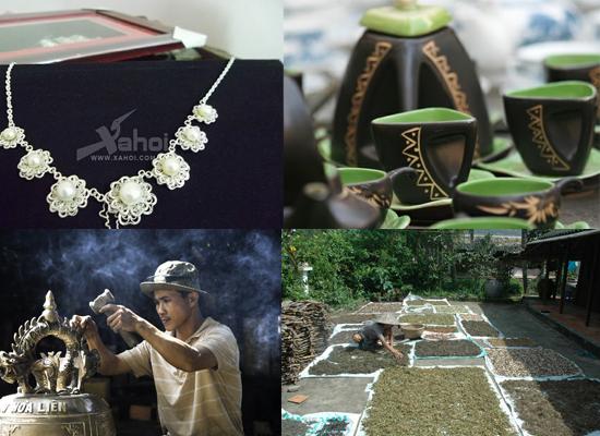 Những sản phẩm của một số làng nghề nức tiếng đất Hà Thành