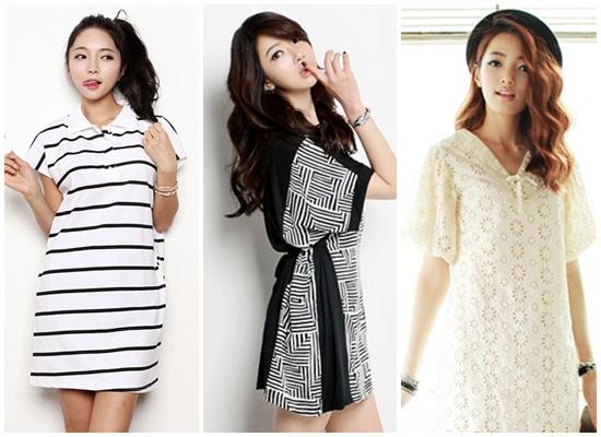 Dưới cái nắng oi bức của mùa hè, một bộ váy suông rộng rãi thoáng mát sẽ giúp bạn thoải mái hơn mà vẫn thời trang.