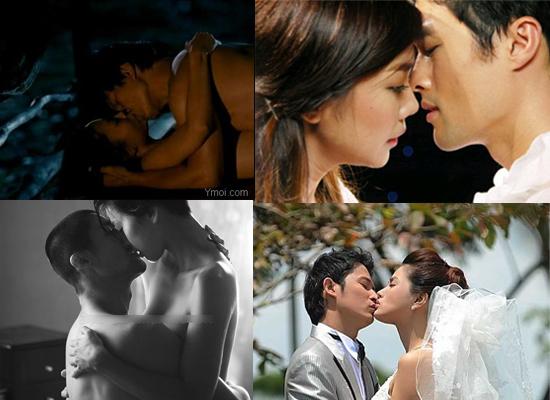 Những nụ hôn đã thiêu đốt triệu trái tim khán giả