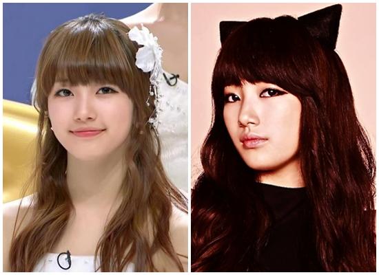 Những kiểu băng đô tóc vô cùng đáng yêu của Suzy.