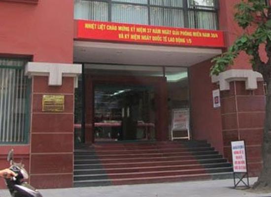 Tòa nhà số 31 Tràng Thi nơi xảy ra vụ tai nạn