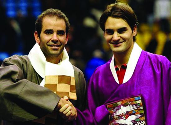 Pete Sampras và Roger Federer