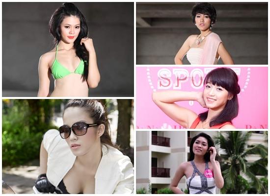 Các thí sinh triển vọng của Miss sport 2012.