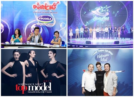 Hàng loạt các chương trình Sao mai điểm hẹn, Việt Nam idol, Got talent, Đồ rê mí, Next top model... ở Việt Nam muốn thu hút khán giả thì cần phải biết làm mới mình.