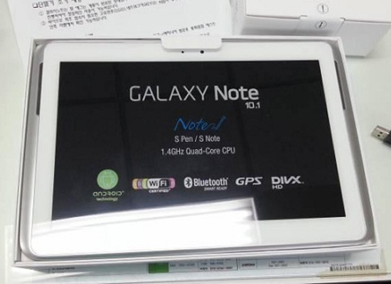 Hình ảnh mới của Samsung Galaxy Note 10.1