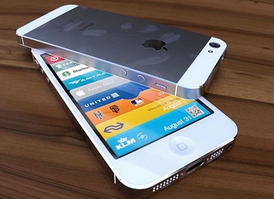 iPhone 5 có màn hình mở rộng ra tận mép.