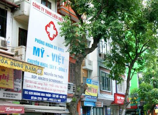 Giám đốc Công ty TNHH Liên Việt Hoa biện luận hoạt động khám, chữa bệnh phụ khoa không thuộc Phòng khám đa khoa Mỹ Việt.