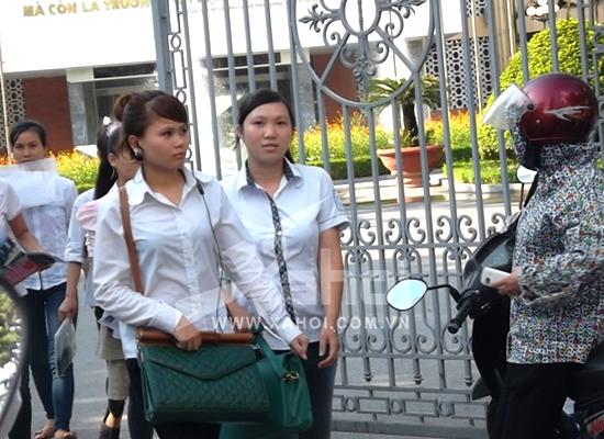 Thí sinh tham dự kỳ thi Đại học 2012 (Ảnh:Song An)