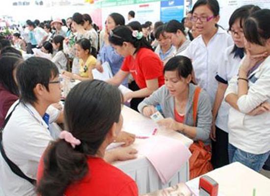 Ngày hội việc làm phụ nữ được tổ chức trong bốn ngày từ ngày 9 đến 12/8 (8h-2h).