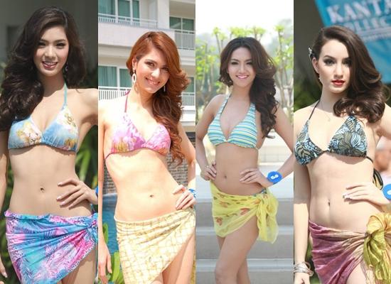 Những cô gái Thái xinh như mộng trong trang phục áo tắm
