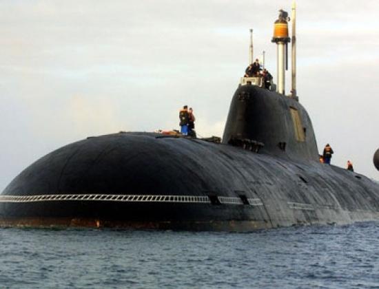 Một tàu ngầm Shark của Nga