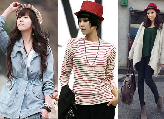 Những chiếc mũ với họa tiết hoa hoặc màu sắc sặc sỡ sẽ là điểm nhấn hiệu quả cho bộ trang phục.