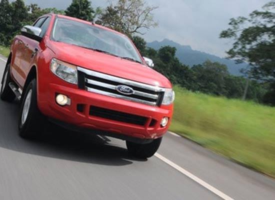 Ranger Wildtrak 2.2, một trong những mẫu xe được nhập khẩu từ Thái Lan