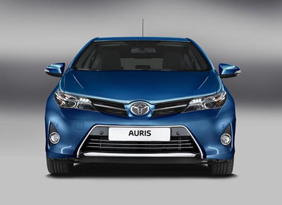 Dáng vẻ hoàn toàn mới của Toyota Auris 2013