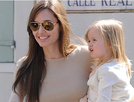 Ange và con gái Vivienne