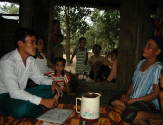 Bà Pỉ Dung, người cho rằng có thể chữa bệnh vô sinh ở nữ giới