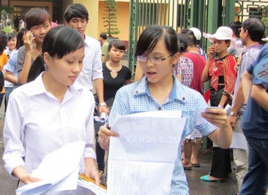 278 trường đại học, cao đẳng công bố điểm thi