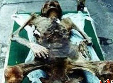 xac uop sinh con Xác ướp 600 tuổi sinh con