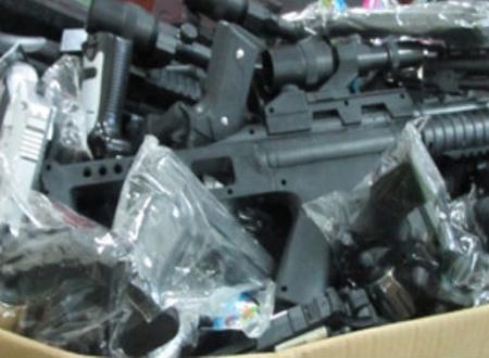 'Ém' đồ chơi bạo lực Trung Quốc chờ Trung thu