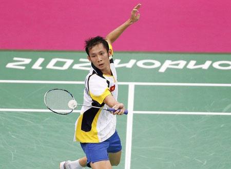 Tiến Minh vẫn thường xuyên gặp khó trước các tay vợt có thứ hạng thấp hơn